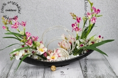 Jasmínová ikebana