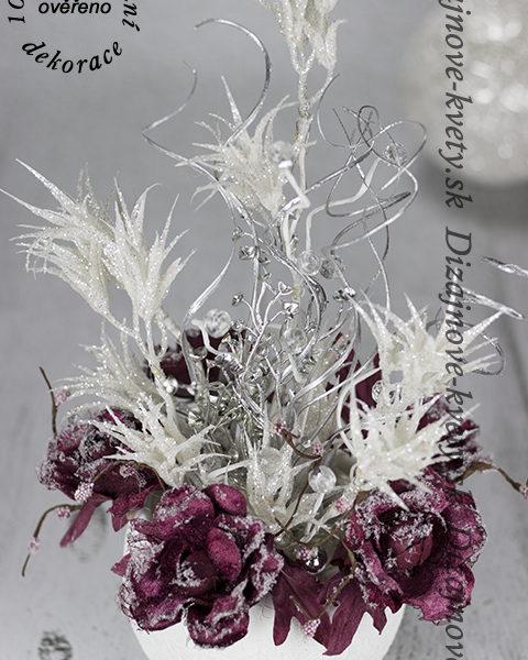 Dizajnové umelé kvety, ktoré nespoznáte od živých.