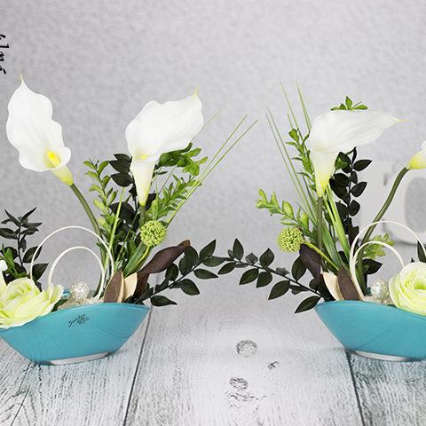 Jednoduchosť a čistota kvetov v dizajne Sandra Rich.