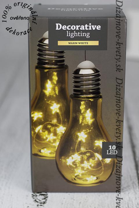Kreatívne LED osvetlenie ako darček.