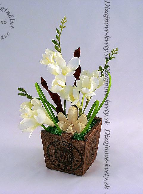 Umelé trvanlivé kvety - frézie