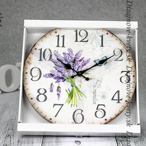 Dizajnové nástenné hodiny nielen do kuchyne.