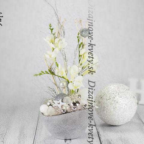 Zimné kvety.