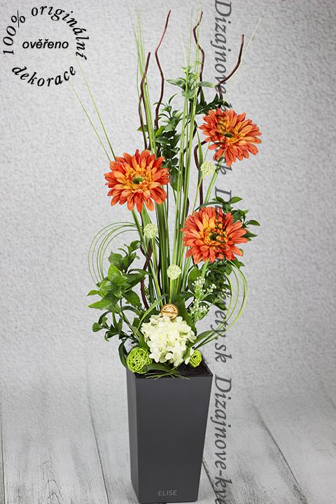 Trvanlivé kvetinové dekorácie, ktoré Vás prekvapí svojou výdržou.