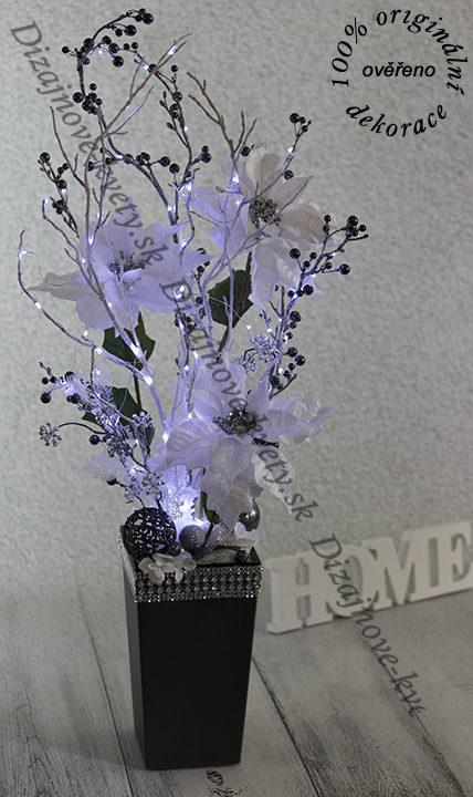 Moderné ozdobné kvety do haly, hotela, reštaurácie, vinárne, či kaviarne.