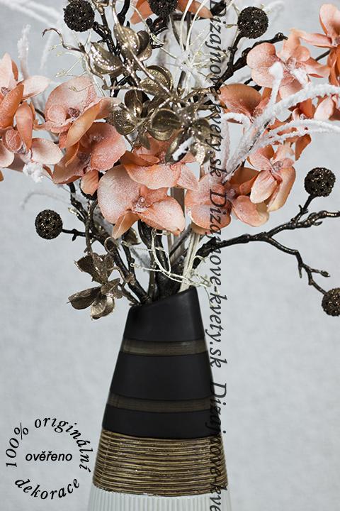 Exkluzívny dizajn moderných kvetín a LED osvetlenie